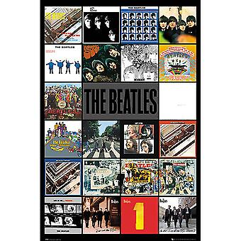 The Beatles Albums Poster