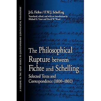 Der philosophische Bruch zwischen Fichte und Schelling