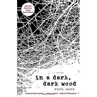 In een donker, donker hout