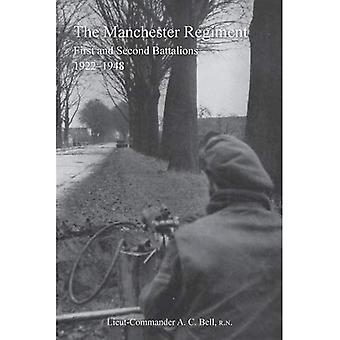 Geschichte der Manchester Regimentfirst und zweiten Bataillone 1922-1948