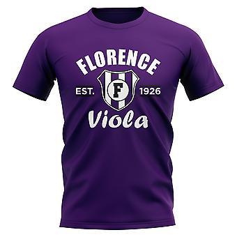 Establecido de Fiorentina fútbol camiseta (púrpura)