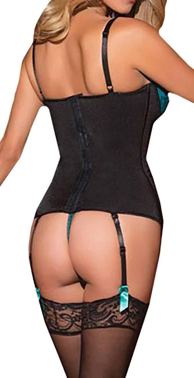 Waooh69 - Corset with lace ribbons and Muir