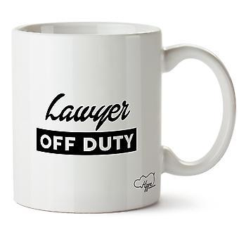 Hippowarehouse Lawyer Off Duty Printed Mug Cup Ceramic 10oz