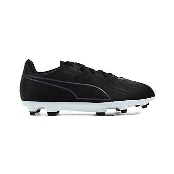 Puma ONE 19.4 FG/AG Firm Ground Kids Football Boot Black Eclipse