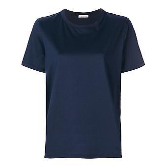 Moncler Blue Cotton T-shirt