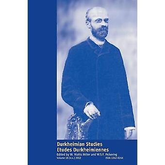 Postkolonialen Studiestudes Durkheimiennes Band 18 von Miller & W. Watt
