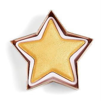 Makeup Revolution I Heart Revolution Star of the Show Highlighter Gold Star