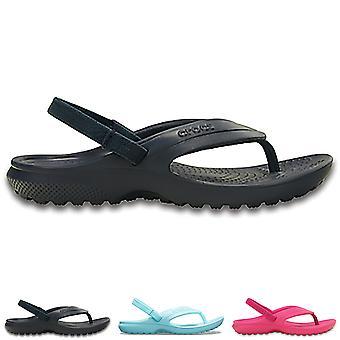 Unisex Kids Crocs Classic Flip K Beach Rubber Holiday Lightweight Sandal