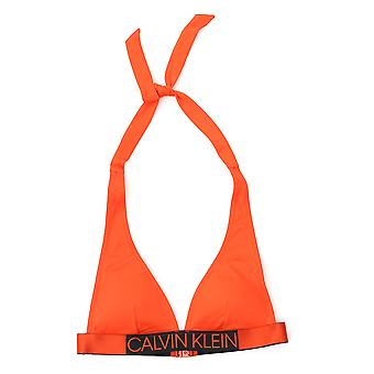 Calvin Klein Orange Nylon One-piece Suit