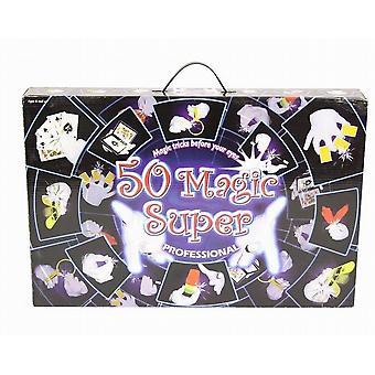 Magiske Tricks spil sæt - sæt 50 magiske Tricks