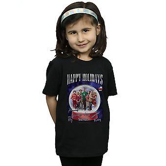 Die Big Bang Theory T-Shirt für Mädchen Frohe Festtage