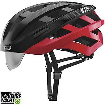 Abus in Vizz ascent bike helmet / / red comb