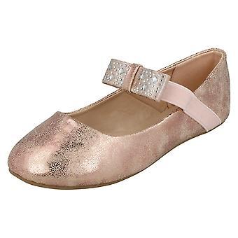 Flickor Spot på platta Ballerina skor H2380