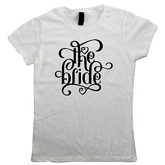 Den bruden Womens T-Shirt | Bruden vara Bridal Wedding Planner Bridezillas höna | Förslaget engagemang perfekt fästman herr fru Partner | Bröllop gåva hennes mamma