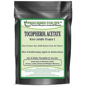 Tocopherol Acetate - Water Soluble Vitamin E Alpha Tocopheryl Acetate Powder