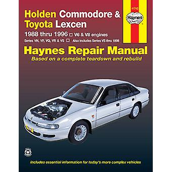 Holden Commodore & Toyota Lexcen (88 - 96) by Tim Imhoff - 9781563926