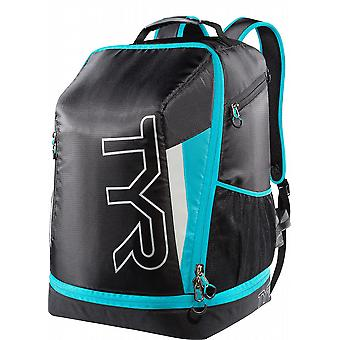 TYR Apex transizione Triathlon Backpack-Black/Blue
