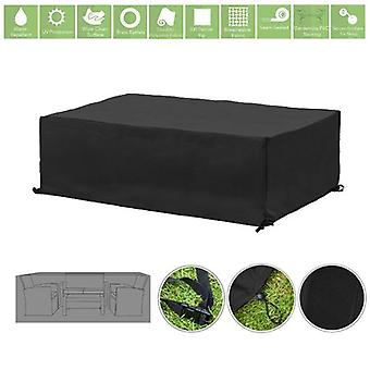 Gardenista® Black Protective Cover for for Small Garden Sofa Set