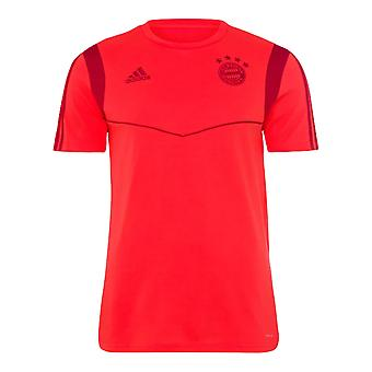 2019-2020 Bayern Munich Adidas Training Tee (Red)