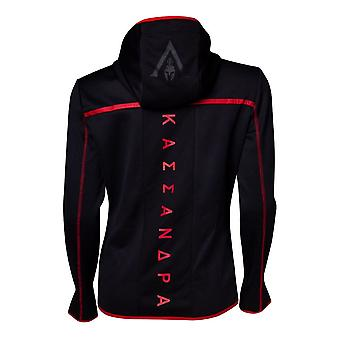 Assassins Creed Odyssey Technical Dark Women Hoodie Black/Red Medium