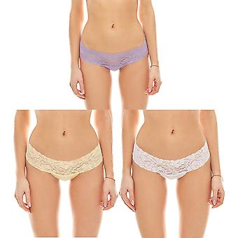 vivance collection stylish lace panties 3 Pack underwear