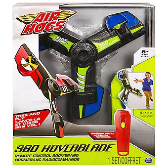 Air Hogs Blue 360 Hoverblade Remote Control Boomerang Blue