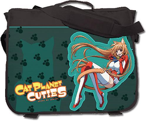 Messenger sac - Cat Planet Cucravates - nouveau Eris School sac noir ge81109