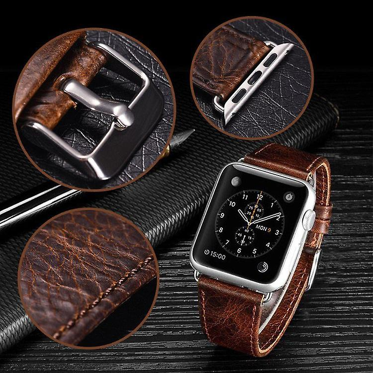 Genuine leather bracelet for Apple Watch 38/40mm