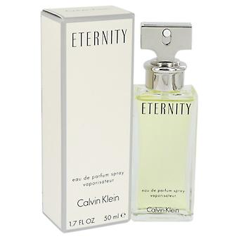 ETERNITY de Calvin Klein Eau De Parfum Spray 1.7 oz/50 ml (mujeres)