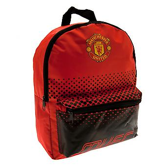 Manchester United FC Childrens/Kids Fade Design Backpack
