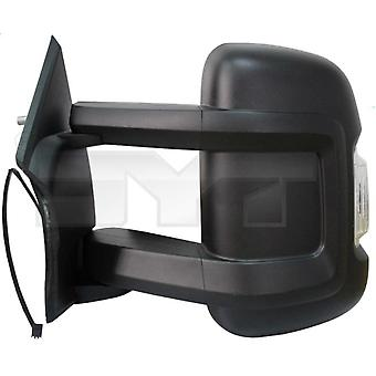 Left Mirror (Electric Heated Indicator long arm) PEUGEOT BOXER Flatbed 2006-2017