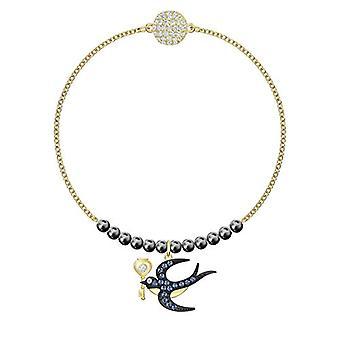 Swarovski vrouw Plated_Gold gevlochten armband 5494381