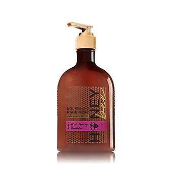 Bad & lichaam werkt gezouten honing & vanille hand zeep met honing boter 8 fl oz/236 ml