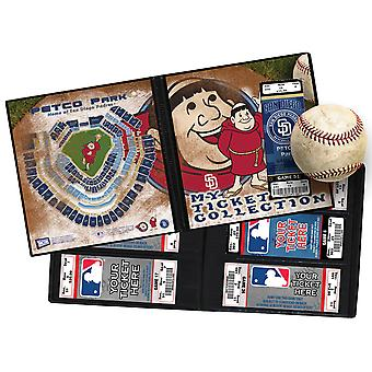 MLB-Maskottchen Ticket Album 8 1 4