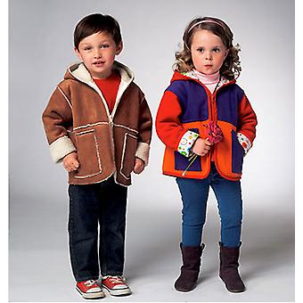 Toddlers' Jacket  All Sizes In One Envelope Pattern K3957