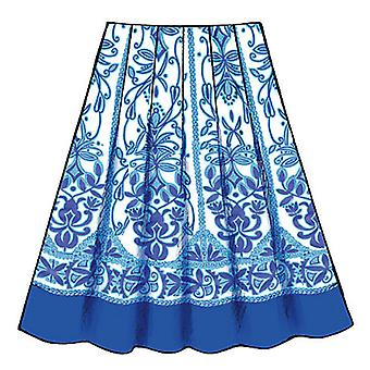 Misses' Skirt  Aa 6  8  10  12 Pattern B4686  Aa0