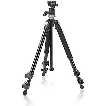 Tripod Mantona mantona Pro Makro II Stativ mit Kugelkop 1/4, 3/8 ATT.FX.WORKING_HEIGHT=17 - 151 cm Black Ball head