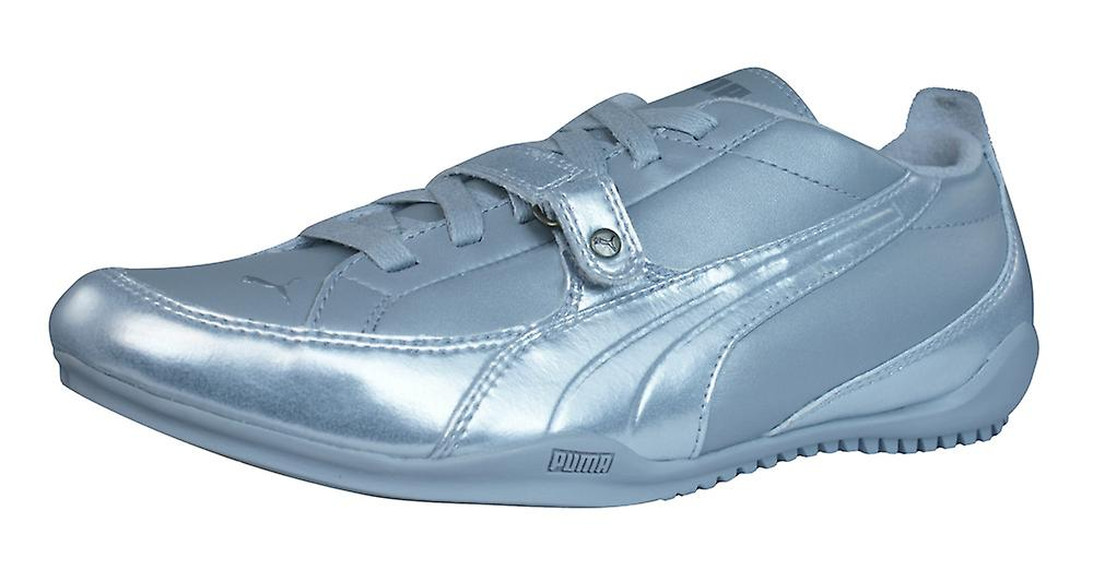 Silver Leather Shoes Womens Trainers Metallic Puma Puma Berlin waUqYq1