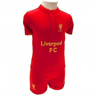 Liverpool Shirt & Short Set 18/23 mths GD