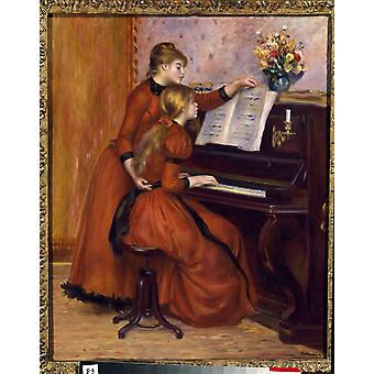 3613 Pierre Auguste Renoir französische Schule Poster drucken