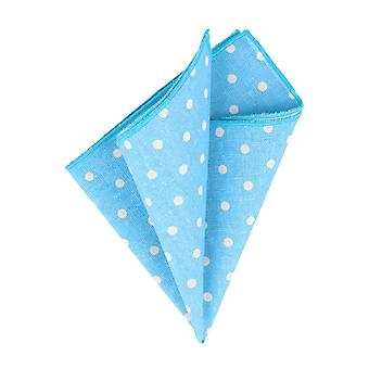 Snobbop handkerchief light blue with white dots handkerchief Cavalier cloth