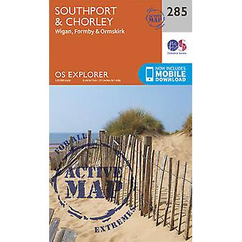 Southport and Chorley by Ordnance Survey