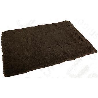 Vetbed oprindelige brune 69x69cm (27 x 27