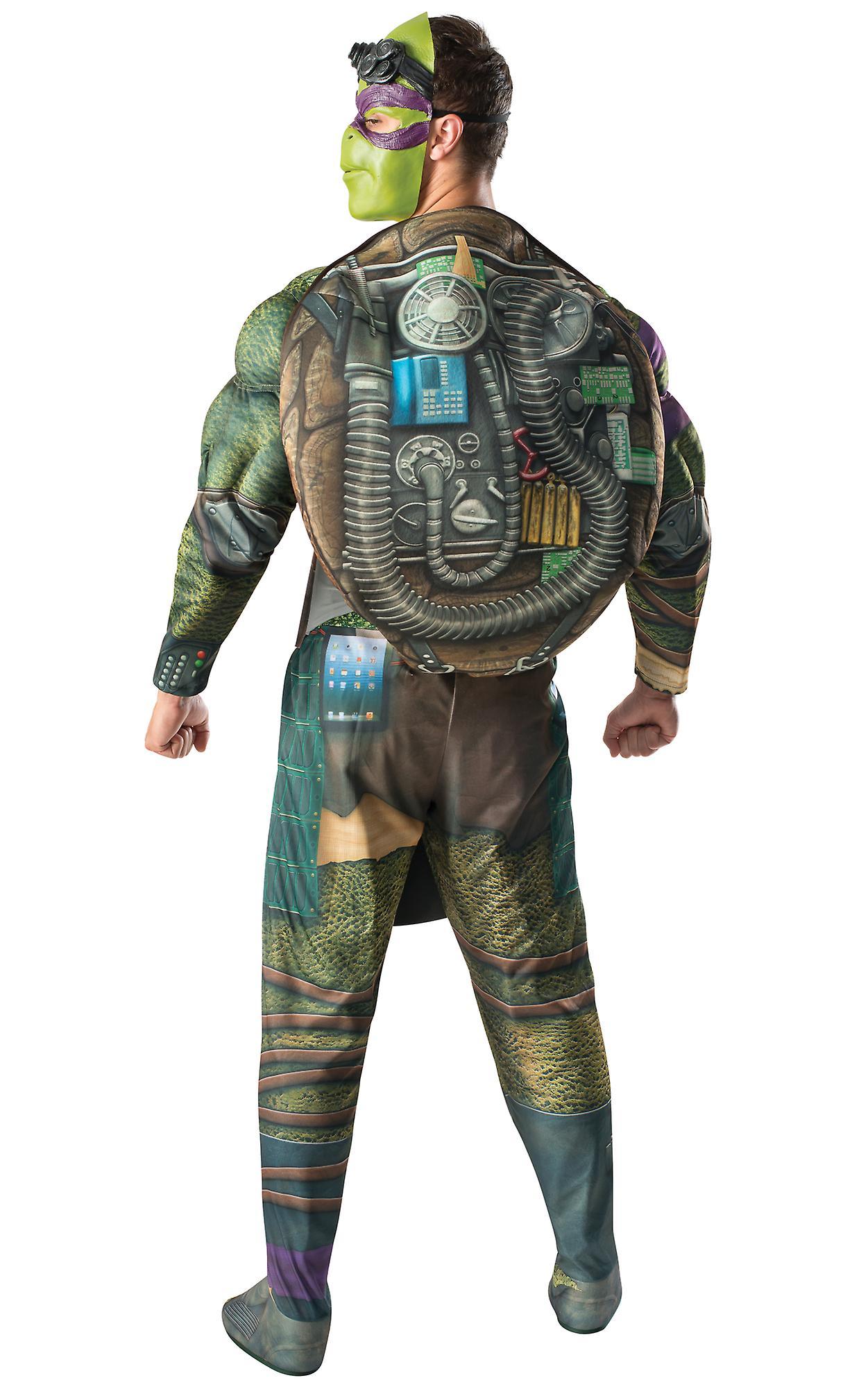 a1cf3049b92 Donatello Don Donnie Teenage Mutant Ninja Turtles TMNT Superhero Men Costume