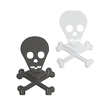 Pirate noir & White Skull paillettes pour Parties & artisanat
