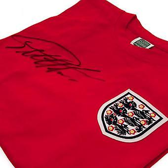 England FA Sir Geoff Hurst underskrevet skjorte