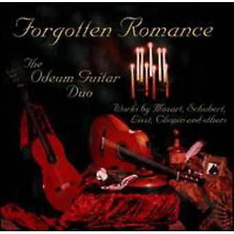 Odeum Guitar Duo - glemt Romance [CD] USA importerer