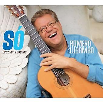 Romero Lubambo - S? Brasilianske essensen [CD] USA importerer