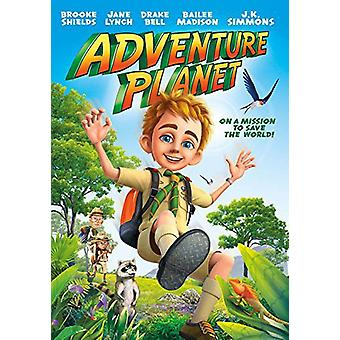 Adventure Planet [DVD] USA importerer