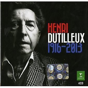 Importación de Henri Dutilleux - Henri Dutilleux, Estados Unidos 1916-2013 [CD]